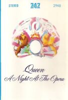 Queen .. A Night At The Opera.. 747 Import Cassette Tape