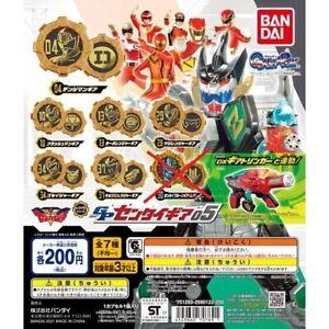 Kikai Sentai Zenkaiger GP SENTAI GEAR Vol.5 Set of 6 Bandai MMPR NEW FedEx F/S