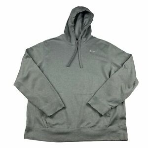 Nike Therma Fit Mens L Large Grey Pullover Hoodie Training Top