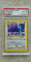 Pokemon Dragonair 18/102 1st Edition Base Set PSA 10 1999 Pokemon Shadowless