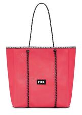 VICTORIA'S SECRET PINK TOTE BAG NEOPRENE- CORAL - NEW IN PACKAGING!