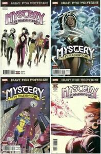 Hunt for Wolverine Mystery in Madripoor #1-4 Marvel Limited Series (2018) VF/NM