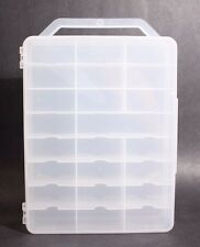 48 CAR CARRYING CASE FOR AURORA/TYCO HO SLOT CARS, AFX, ThunderJet, Tjet