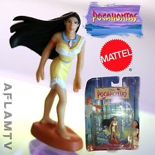 Pocahontas Figure cake topper figurine Disney By Mattel Rare New Vintage