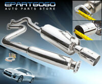 """For 05-10 Cobalt G5 2.2 Muffler Stainless Catback Exhaust System Piping 3.5"""" Tip"""
