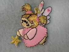 Infant Fairy Angel Pink Iron On Patch Applique