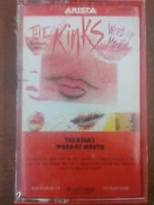 "THE KINKS ""WORD OF MOUTH"" CASSETTE (sealed)"
