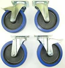 1 ensemble SL 200 mm roulettes pivotantes avec/sans frein, rouleaux de transport