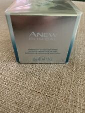 Avon Anew Clinical Overnight Hydration Mask 1.7 fl. oz. / 50g New In Box Sealed