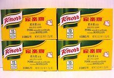 Pack 4 of Knorr 6 Bouillon Cubes - Pork Flavor 2.5 oz/pack