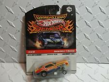 Hot Wheels Dragstrip Demons George Doty's '71 Mustang w/Real Riders