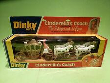 DINKY TOYS 111 CINDERELLA'S COACH - HORSES - RARE SELTEN - GOOD CONDITION IN BOX