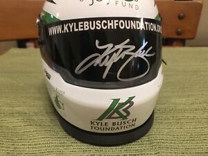 "Kyle Busch ""Bundle of Joy"" Charity Mini Helmet - Autographed!"