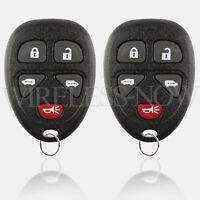 2 Car Key Fob Keyless Remote 5B For 2005 2006 2007 2008 2009 Chevrolet Uplander