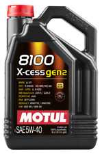 Motul 8100 X-CESS 5W40 - 5L - Fully Synthetic Engine Motor Oil