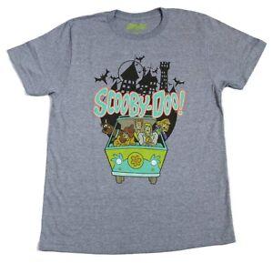 New Mens Scooby Doo Hanna Barbera Vintage Retro T-Shirt 80s 90s Classic Tee
