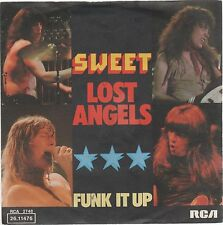 "SWEET LOST ANGELS/FUNK IT UP 7"" 45 GIRI"