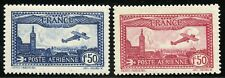 FRANCE AIRMAILS SCOTT# C5/6  MINT NEVER HINGED--SCOTT VALUE  $75.00