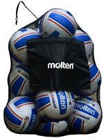 Molten Mesh Ball Bag TEAM SPORT FOOTBALL SOCCER BASKETBALL volleyball DURABL SPB