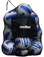 Molten Mesh Ball Bag TEAM SPORT FOOTBALL SOCCER BASKETBALL volleyball DURABLE