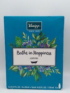 Kneipp 6 Piece Herbal Bath Oil Set,  20 Ml per Bottle NEW Free shipping!