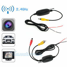 New 2.4GHZ Wireless Car Reversing Camera Video Transmitter Receiver Kit AU STOCK