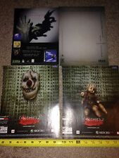 Lot of 4 Horror Video Game Ad Pages: Condemned 2 & Shadow Madness NO GAMES!