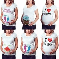 Maternity T Shirt Cute Funny Womens Pregnant tshirt Baby Shower Gift Top Love