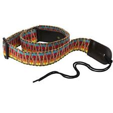 1PCS Colourful  Weave Ethnic style Guitar Ukulele Bass Strap Adjustable WF