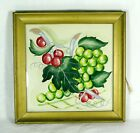 Original Theorem Painting GRAPES,  LEAVES,  AND VINES c.1940s