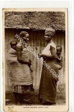 (Ga1224-450) Real Photo of Nursing Mothers, SIERRA LEONE c1910 VG