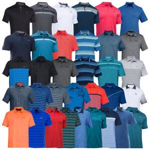 Men Under Armour Polo Playoff Golf Shirt Short Sleeve Top XS L 2XL 4XL DEFECT