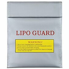 """US Fireproof RC Lipo Battery Safe Bag Lipo Guard Charge Protection bag 9""""x11.8"""""""