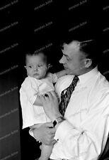Negativ-Portrait-Mann-Kleinkind-Cute-German-Man-Baby-1930er Jahre-1930s-2