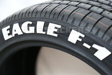 "PERMANENT TIRE LETTERING - GOOD YEAR EAGLE F1 - 1.75"" For 14"" 15"" 16"" Wheels"