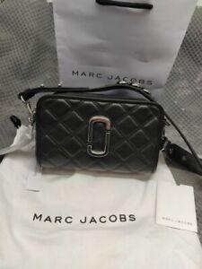 Genuine Marc Jacobs The Quilted Softshot 21 Crossbody Bag black sales..