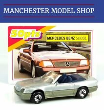 Matchbox International Sports Car Collection MI 220 Mercedes-Benz 500 SL + Card