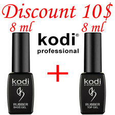 LOWEST PRICE!!! 8 ml. Kodi Professional - Gel LED/UV Rubber TOP + Rubber Base