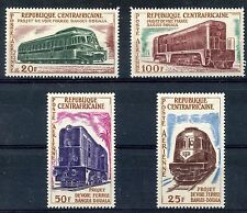 STAMP TIMBRE DE CENTRAFRICAINE NEUF PA N° 12/15 ** VOIE FERREE TRAIN LOCOMOTIVE
