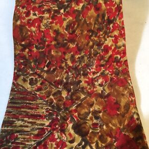 VALENTINO cravatte Vintage Abstract Pattern Silk Tie Hand Made in Italy