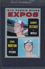 1970 Topps #109 Expos Rookie Stars Jestadt/Morton NM *3346