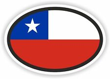 Nationality plate Chile Stickers Car Stickers Car Bike