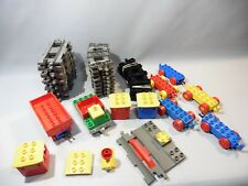 LOT TRAIN DUPLO ET DE RAILS DIVERSES