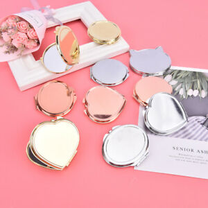 Compact Makeup Mirror Cosmetic Magnifying Pocket MakeUp Mirror for Travel Mir M/