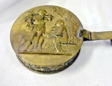 """VTG PEERAGE BRASS CRUMB CATCH ASH COLLECTOR CAN WITH HANDLE 4 3/4"""""""