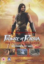 """Prince Of Persia The Forgotten Sands """"21st May"""" 2010  Magazine Advert #4583"""