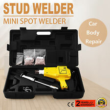 Auto Body Stud Welder Slide Hammer Dent Puller Panel Beater Removal Repair 220V