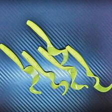 Curly Tail Grub Worm Soft Jelly agrès de pêche leurre Swim Bait Jig Head Hook 80 mm