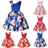 Girls Dresses Wedding Formal Occasion Bridesmaid Flower Party Teen Pageant Hot