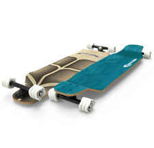 "Fathom by Shark Wheel Long Drop Roam 39"" Longboard Skateboard Complete, Teal"